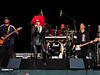 Cyndi Lauper - Seattle (9/2/10) : Another incredible blues show!  We were dead center, but much farther back than the Reno show, so I just zoomed in as much as I could with my lil' camera.  Had to de-noise some of the shots quite a bit, but overall it wasn't too bad.  Some of them look better as black and white due to the light and washed-out look of the colors, so I just stripped the color out. :)