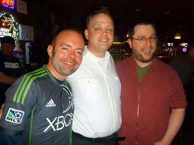Our friend Steve (left) died this year.  Very sad...such a sweet guy.