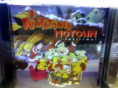 OK, a Flintstones Christmas album was hard enough to stomach.  But a Flintstones MOTOWN Christmas???