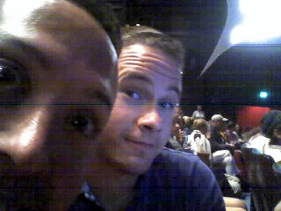 Antknee & Matt at the Natalie MacMaster show.